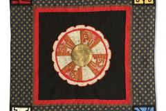 Disco solar maya con los sellos mayas de la familia Señal — Rosa Martha Girón Canónico