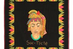 Mayan Princess Sac Nicté (White Flower) — Luz Elena Castro