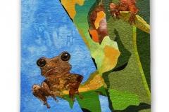 White-Lipped Chirping Frog (Eleutkerodactilus) — Els Mommers