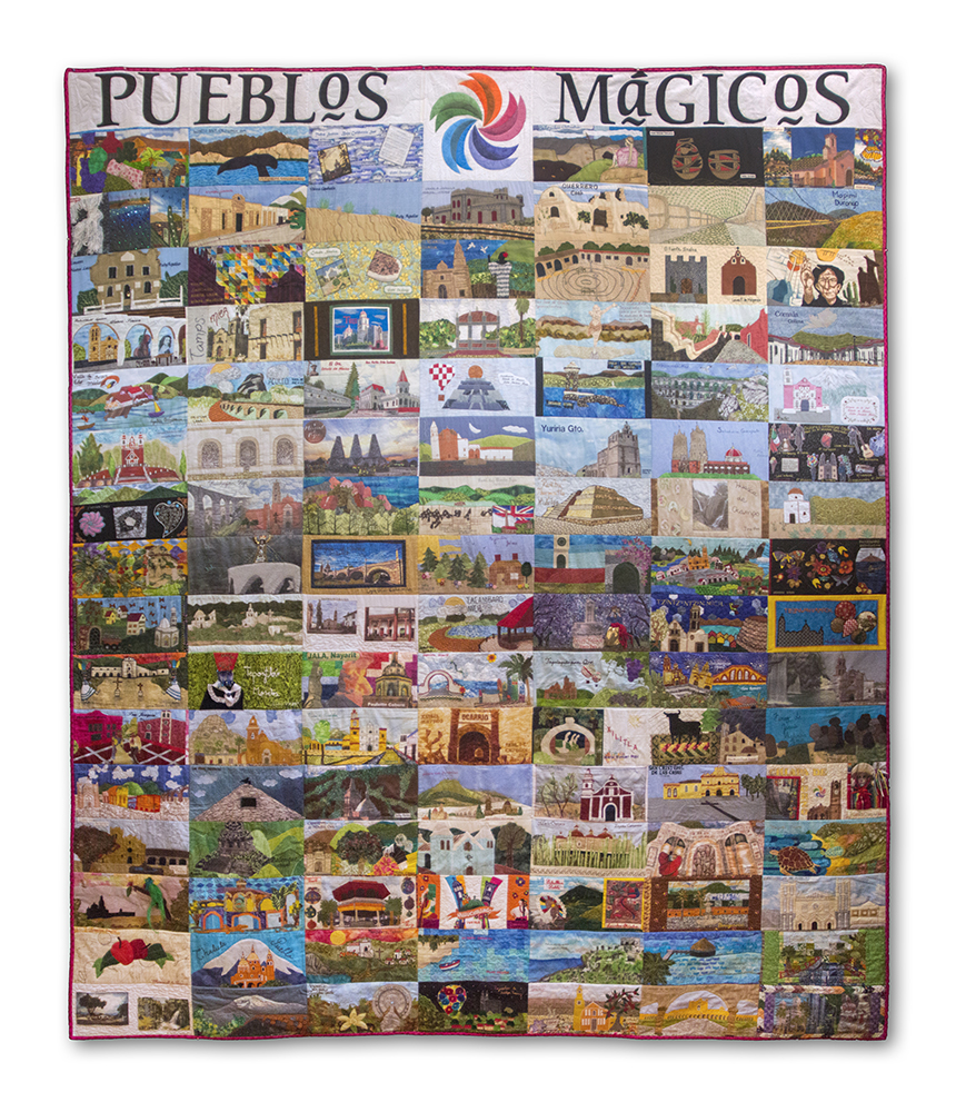 Macro Quilt: Pueblos Mágicos